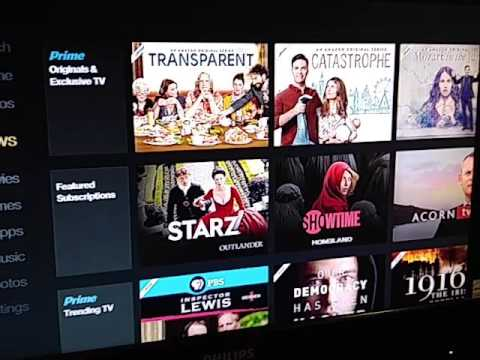 Amazon Firestick App Menu Issues Youtube