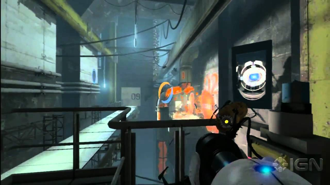 Portal 2 chapter 9 the part where he kills you