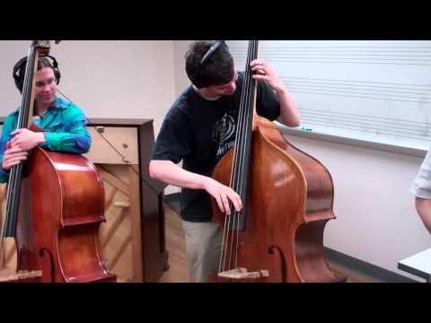 Trane's Blues - UNCG Jazz Bass Studio (double-dub)