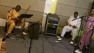 Djeli Moussa Diawara: rehearsing Yasimika
