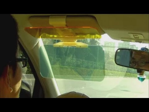 TOMTOP Wholesale Universal Car Sunshade Goggle Anti-glare Eyesight-protecting