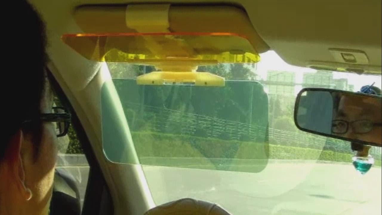 TOMTOP Wholesale Universal Car Sunshade Goggle Anti-glare Eyesight ... 1afa3fe665f