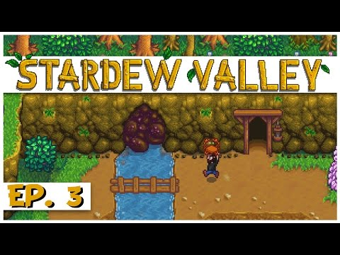 Stardew Valley - Ep. 3 - Mining for Crabs! - Let's Play Stardew Valley Gameplay