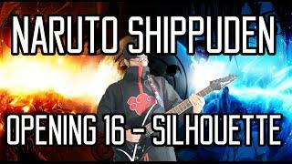 Naruto Shippuden OP 16 Silhouette シルエット - GUITAR COVER - KANA-BOON ナルト- 疾風伝