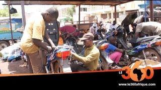 Le360.ma • Mali: les réparateurs de motos maliens face aux défis des nouvelles marques