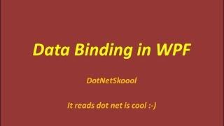 Data Binding Modes in WPF