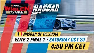 ELITE 2 Final 1 | NASCAR GP BELGIUM 2018