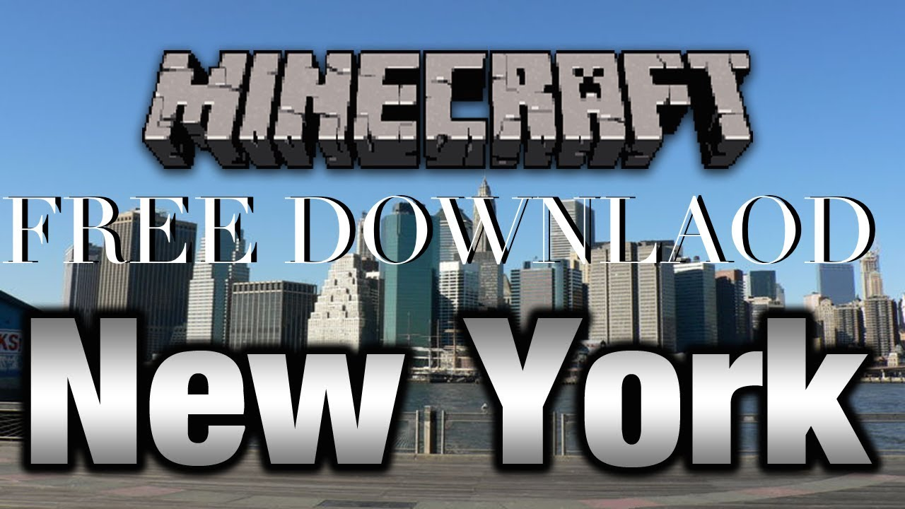 Minecraft Ps3 | New York City Map [DOWNLOAD LINK] NYC DL - YouTube