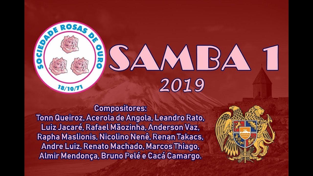 Download 🔴 Rosas de Ouro 2019 - Samba Concorrente #Samba1 (Tonn Queiroz,Acerola da Angola, e Cia)