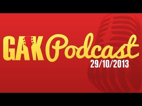 The GAK.co.uk Guitar Shop Podcast - 29/10/2013  -