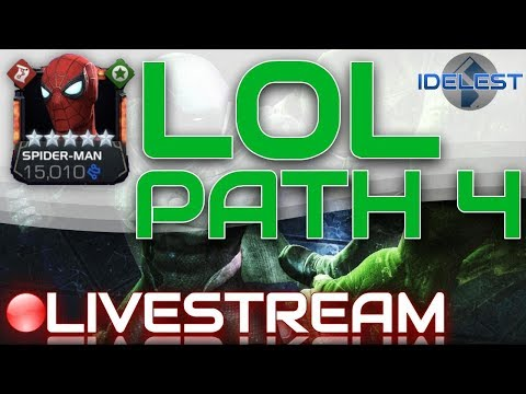 Labyrinth of Legends Path 4 (JF, Thor, Electro, MK) Livestream | Marvel Contest of Champions