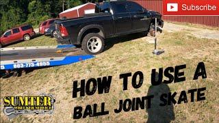 How to use a bąll joint skate.
