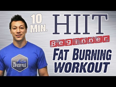 10 MINUTE FAT BURNING BEGINNER WORKOUT - talblast