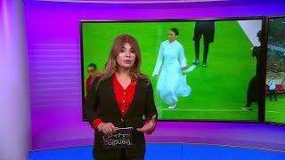 فقرة راقصة وعازفة  في افتتاح بطولة رياضية في كربلاء تثير جدلا وتبادلا للاتهامات بشأن قدسية المدينة
