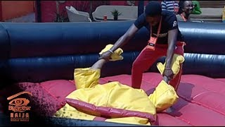 vuclip Big Brother Double Wahala Day 46: Fight Club