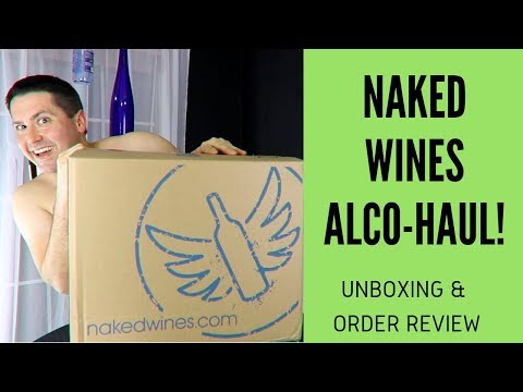 wine article NakedWinescom Alcohaul Unboxing