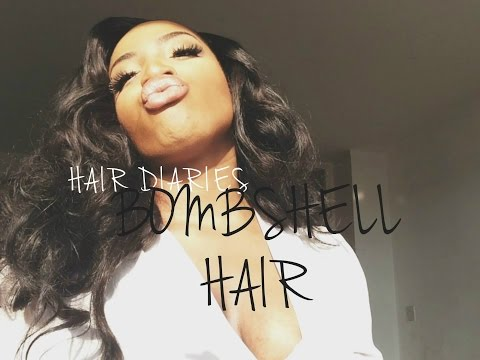 BOMBSHELL HAIR With NO HEAT   AnnieDreaXO