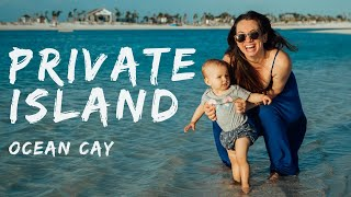 We Found a Private Island! - Ocean Cay - MSC Marine Reserve