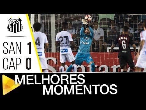 Santos 1 x 0 Atlético-PR | MELHORES MOMENTOS | CONMEBOL Libertadores Bridgestone (10/08/17)