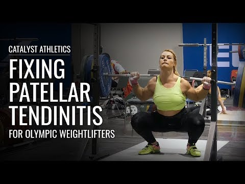 Fix Patellar Tendinitis for Olympic Weightlifting