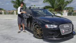CRAZY Stage 2 Audi A4 |Updates & Future Projects Video Overview (2013 B8.5) thumbnail