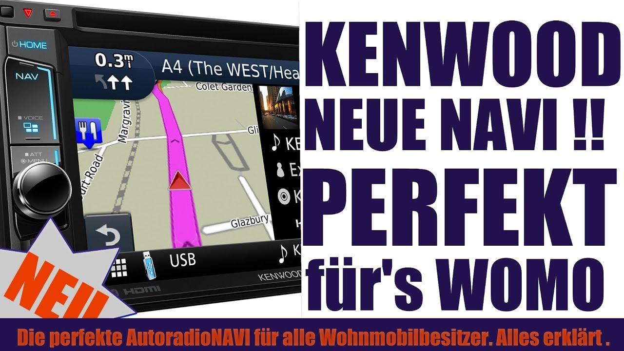 Die Perfekte Navi Das Perfekte Radio Fur Euer Wohnmobil Kenwood