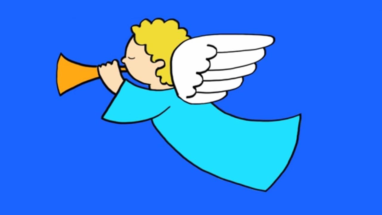 Comment dessiner un ange youtube - Comment dessiner un diable facilement ...