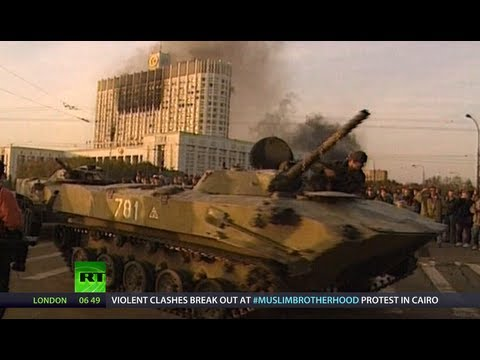 Black October '93: Tanks In Moscow, Blood On Streets (RT Documentary)