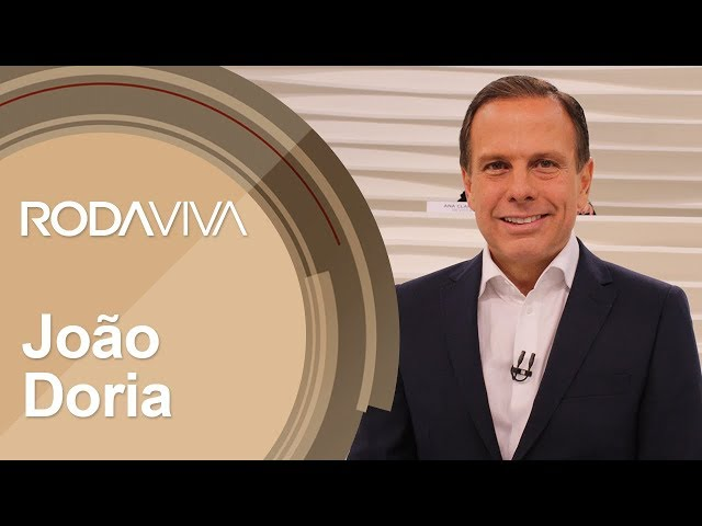 Roda Viva | João Doria | 15/10/2018