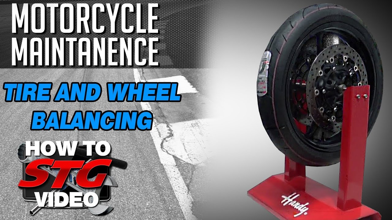 How To Balance A Motorcycle Tire And Wheel From Sportbi