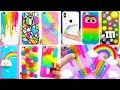 DIY Phone Case Life Hacks! 10 Rainbow Phone DIY Projects & iPhone Hacks!