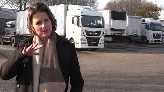 Truckparking bedrijvenpark  Vitaal Kraaiven blijft netjes schoon door mooie samenwerking.