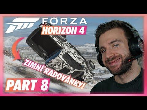 ZIMNÍ RADOVÁNKY! | Forza Horizon 4 #08 thumbnail
