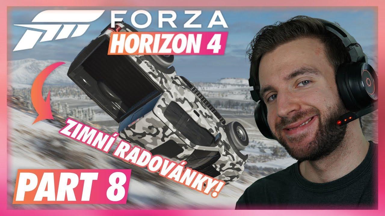ZIMNÍ RADOVÁNKY! | Forza Horizon 4 #08