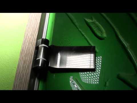 Стеклянная дверь из заливного фьюзинга Германия