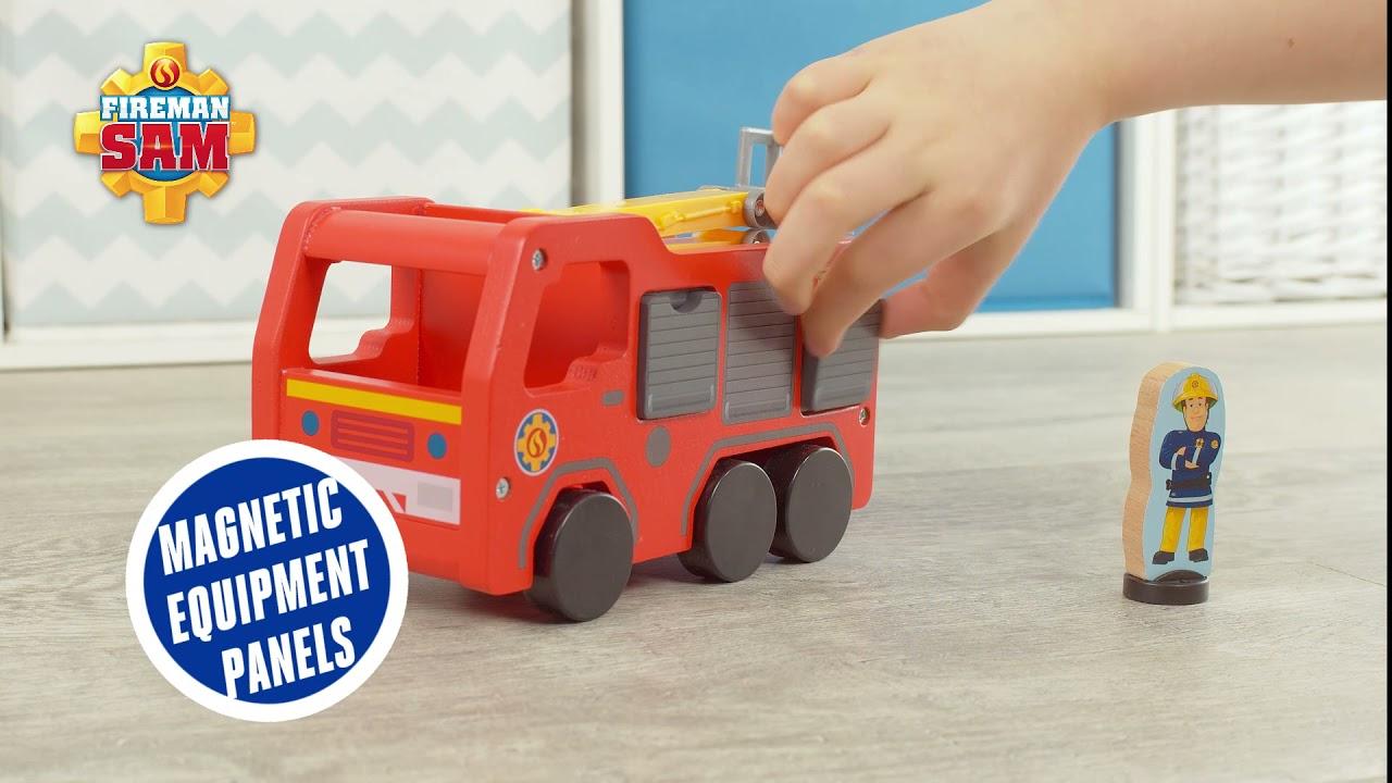 Fireman Sam Wooden Jupiter