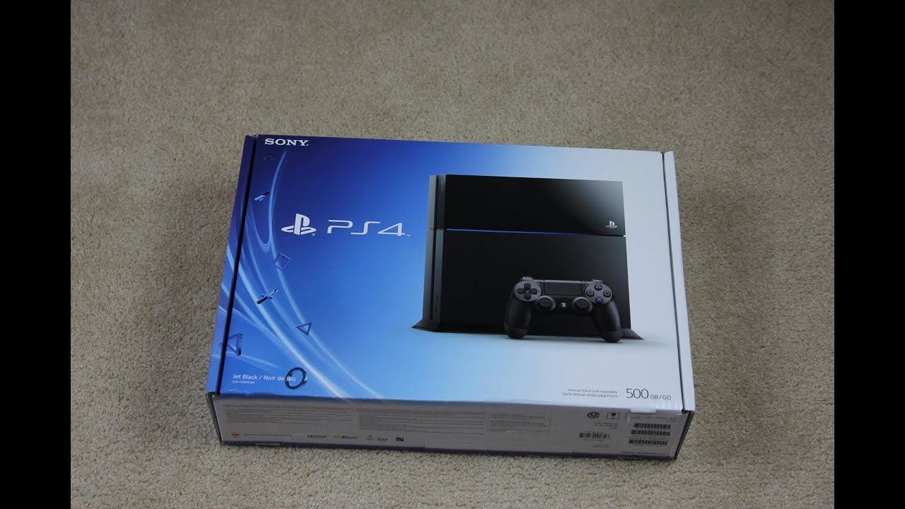 Sony PS4 Unboxing - YouTube