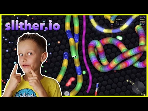 Slither.IO - SPEED TO KILL - Yeah! Agressive Snake Tactics! Hello Leader Board! | Android IOS