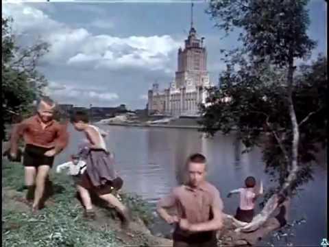 МОСКВА 1956  - место где снимался эпизод Старик Хоттабыч (www.kinoagentstvo.ru)