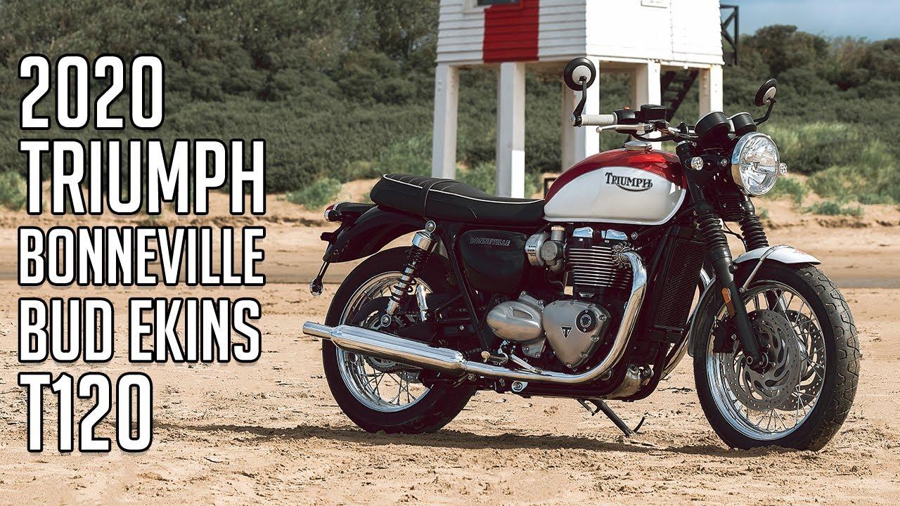 2020 Triumph Bonneville T120 Review.New 2020 Bud Ekins Bonneville T120 And T100 Special Editions Eicma 2019