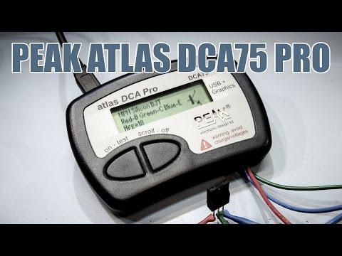 SDGEE #011 Peak Atlas DCA75 Pro Semiconductor Analyser