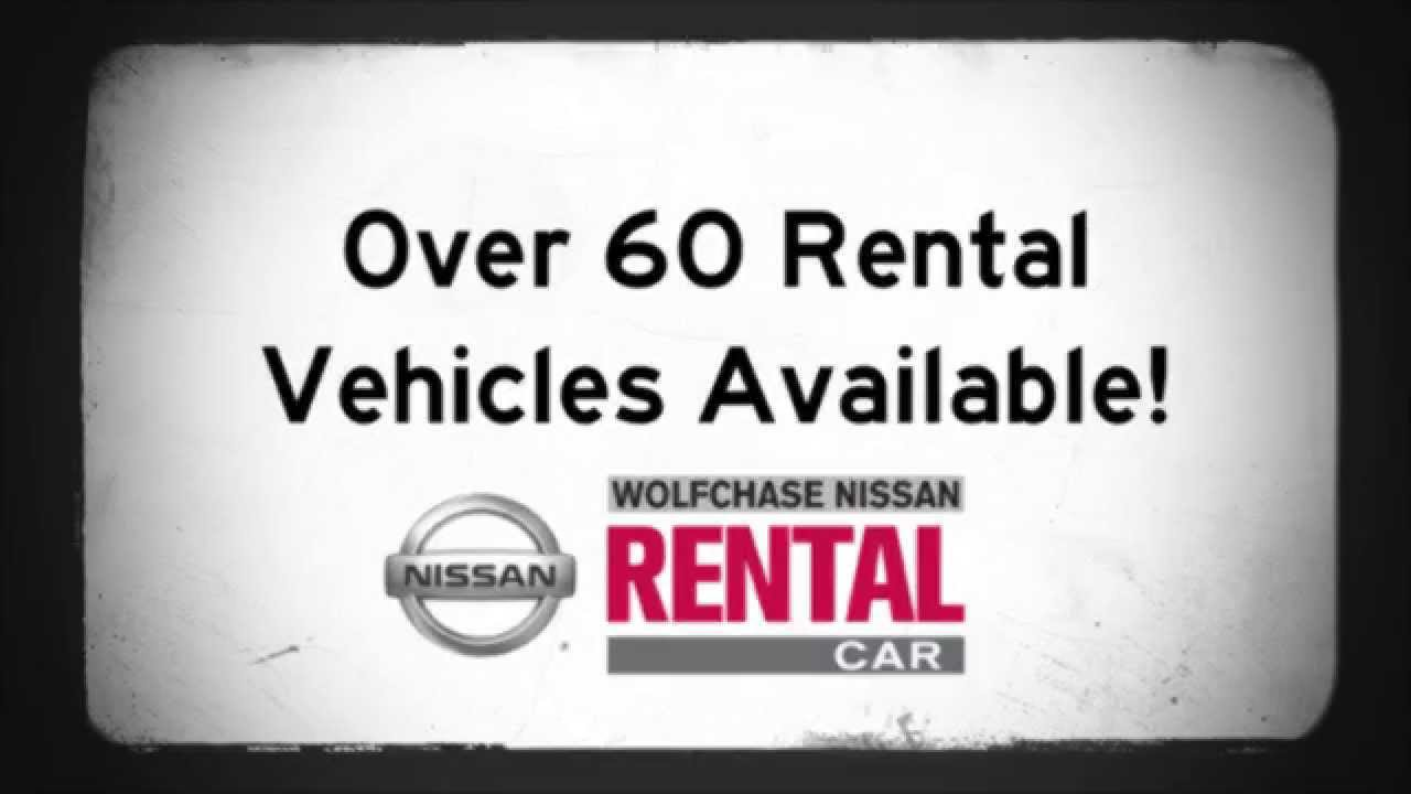 Wolfchase Nissan Rental Cars - YouTube