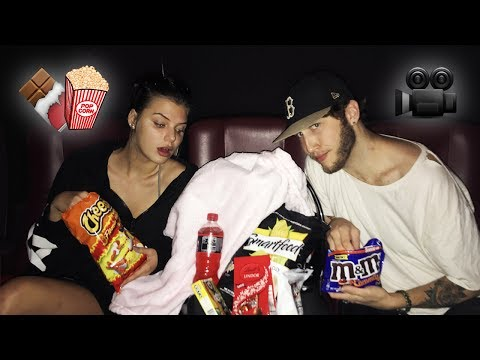 Thumbnail: HOW TO SNEAK ANY FOOD INTO THE MOVIES (Life Hack)