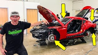 SHOCKED EVERYTHING IS BMW ON TOYOTAS SUPRA??