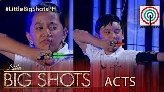 Little Big Shots Philippines: Basti and Kat | Junior Archers