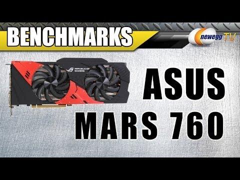 ASUS MARS 760 Video Card Benchmarks - Newegg TV