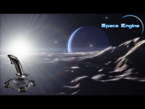 Exploring the cosmos with Space Engine