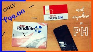 [Unpacking] PLDT Landline Prepaid Plus