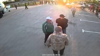 Во время захвата АГЗС ''Евро Газ'' 11.07.2015 г.