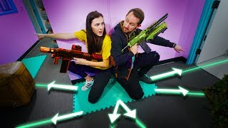 NERF Battle Tiles Challenge! thumbnail